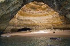 Benagil-Strandhöhlen, Algarve, Portugal Stockfotografie