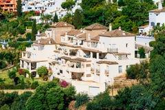 Benahavis στη Μάλαγα, Ανδαλουσία, Ισπανία Καλοκαίρι Στοκ Εικόνες