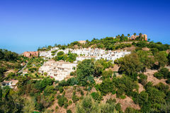 Benahavis In Malaga, Andalusia, Spain. Summer Cityscape. Village Royalty Free Stock Photography