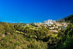 Benahavis In Malaga, Andalusia, Spain. Summer Stock Photos