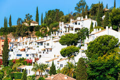 Benahavis In Malaga, Andalusia, Spain. Summer Stock Image