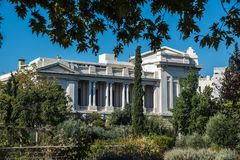 Benaki muzeum w Ateny obrazy stock