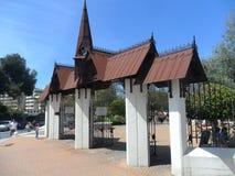 Benalmadena门户Parque de la帕路玛 免版税库存图片