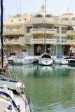 BENALMADENA, ANDALUCIA/SPAIN - MAJ 9: Widok marina przy Ben obrazy stock