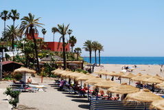 Benalmadena beach. Royalty Free Stock Photography