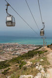 Benalmadena cable car Royalty Free Stock Photo
