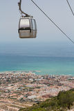 Benalmadena cable car Stock Photos