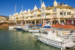Benalmadena, Malaga, Spagna Fotografie Stock