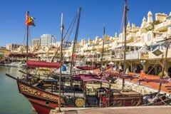Benalmadena, Malaga, Spagna Fotografia Stock Libera da Diritti