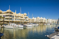 Benalmadena, Malaga, Spagna Fotografia Stock