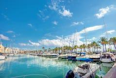Benalmadena Marina Costa Del Zol, Malaga prowincja, Andalusia, S zdjęcie royalty free