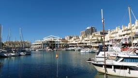 Benalmadena Marina, Hiszpania fotografia royalty free