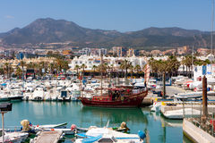 BENALMADENA marina Stock Photos