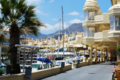 Benalmadena marina. Royalty Free Stock Images