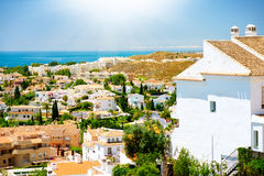 Benalmadena Panoramic View. Spain Stock Photography