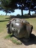 Benalmadena-Parque de la paloma-skulptur Royaltyfri Fotografi