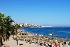 benalmadena plaża fotografia royalty free