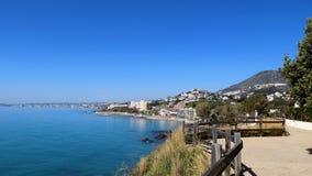 Benalmadena plaża panoramiczny Europa fotografia stock