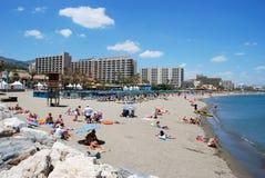 benalmadena plaża Zdjęcie Royalty Free