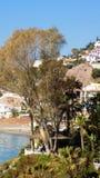 Benalmadena plaża panoramiczny Europa Obraz Royalty Free