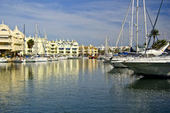 Benalmadena port Royalty Free Stock Photography
