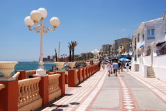Benalmadena promenade. Stock Photography