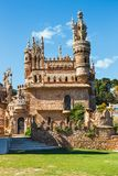 Colomares is a monument honoring Cristopher Colombus and the discovery of America. Was built b Royalty Free Stock Photo