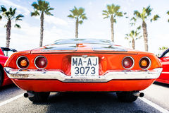 Benalmadena, Spain - June 21, 2015: Back view of classic 1972 Chevrolet Camaro Stock Image