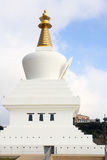 Benalmadena stupa Royalty Free Stock Photography