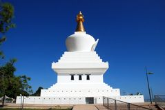 Benalmadena stupa. Stock Images