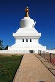 Benalmadena stupa. Royalty Free Stock Photography