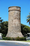 Benalmadena watchtower. Royalty Free Stock Images