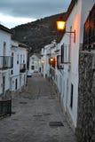 Benamahoma, Ισπανία, λευκιά του χωριού πόλη, blanco pueblo Grazalema στο εθνικό πάρκο, δάση πεύκων, Ανδαλουσία στοκ εικόνα με δικαίωμα ελεύθερης χρήσης