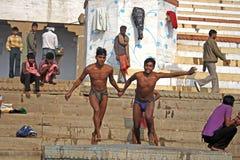 Benaras Imagen de archivo libre de regalías