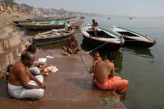 Benaras en la India Fotografía de archivo