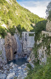 Benasque dam Stock Image