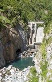 Benasque dam Stock Images
