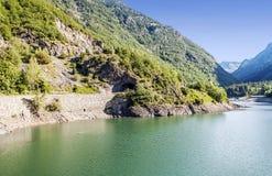 Benasque river Royalty Free Stock Photo