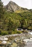 Benasque whitewater Stock Photo
