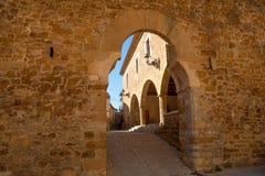 Benassal Arc de la Mola Benasal in Maestrazgo Castellon Royalty Free Stock Image
