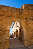 Benassal Arc de la Mola Benasal in Maestrazgo Castellon. At spain Royalty Free Stock Images