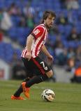 Benat Etxebarria do clube atlético Bilbao fotos de stock