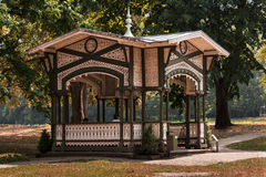 Benazet Pavilion at the Lichtentaler Allee Stock Images