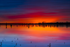 Benbrook Lake Sunrise Royalty Free Stock Photography