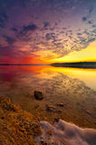 Benbrook Lake Sunset Stock Images