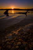 Benbrook Lake Sunset Stock Image
