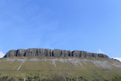 Benbulben. A rocky mountain in the North-west of Ireland Stock Image