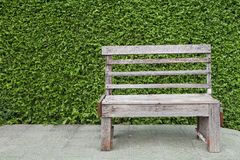 Bence wooden in park Stock Photo