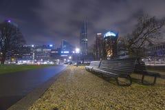 bench взгляд Стоковые Изображения RF