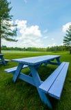 bench взгляд Стоковые Фотографии RF
